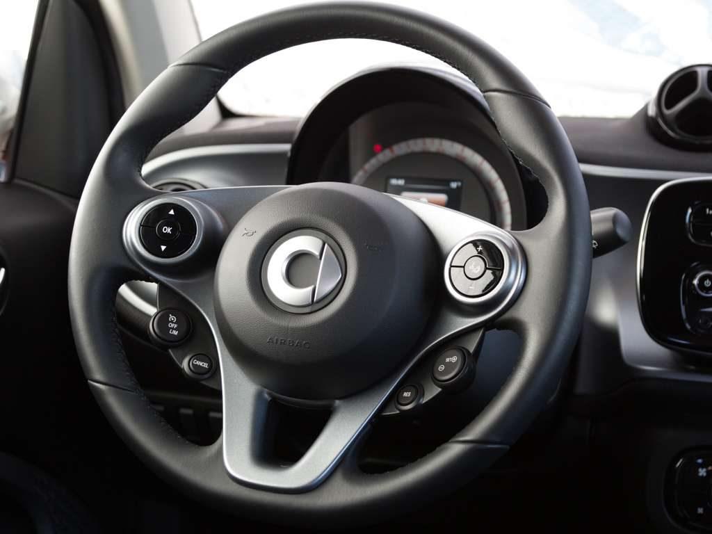 smart, forTwo, smart 52 kW Cool u. Audio/Sitze schwarz