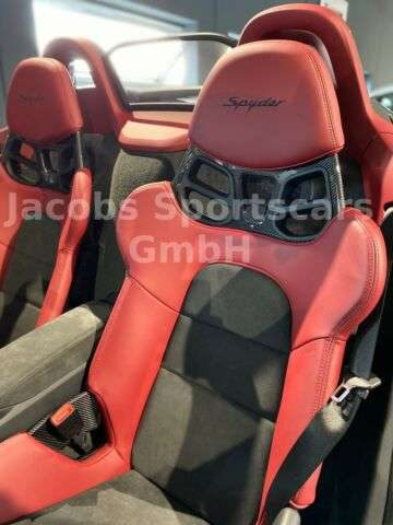 Porsche, Boxster, 718 Boxster Spyder BOSE Vollschalsit. ClassicPak