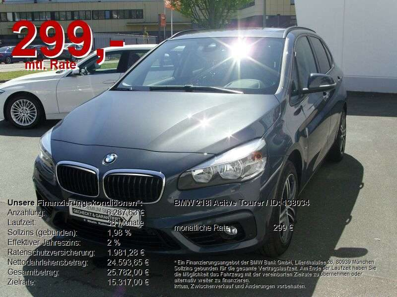 BMW, 218, i Active Tourer Sport Line Navi Komfortzugang