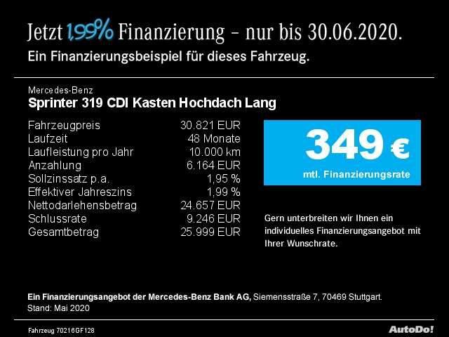 Mercedes-Benz, Sprinter, 319 CDI Kasten