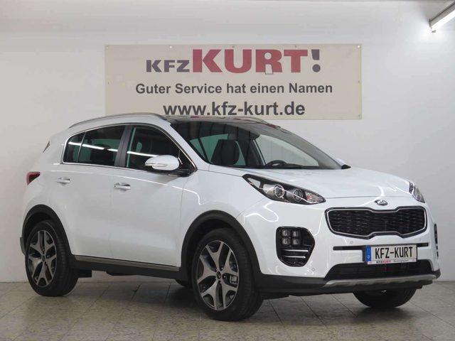 Kia, Sportage, 1.6 T-GDI 2WD GT-Line! NAVI-GLASDACH