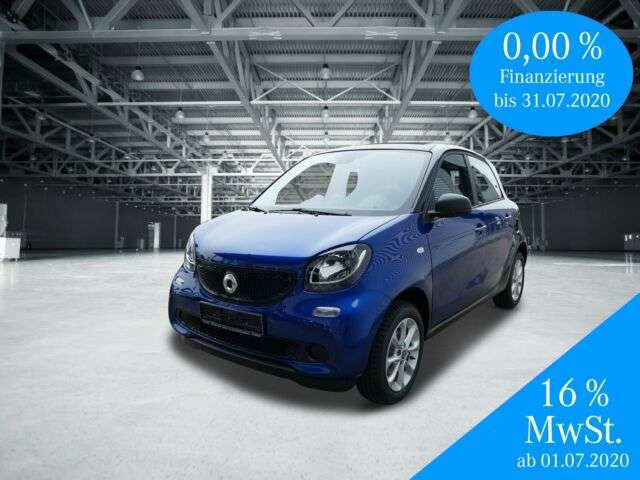 forFour, 52 kW+passion+Komfort+Paket+SHZ+Faltdach
