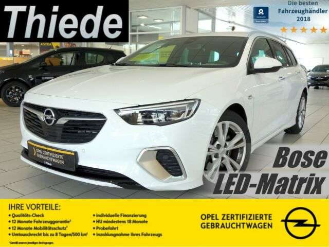 Opel, Insignia, ST GSi 4x4 HEAD UP/ KAMERA/18'/LED/BOSE
