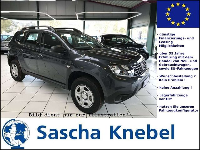 Duster, SCe 115 4x2 Essential Klima PDC SHZ LAGER