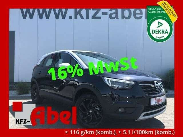 Crossland X, 1.2 Turbo Navi,Winterpaket,Parka.