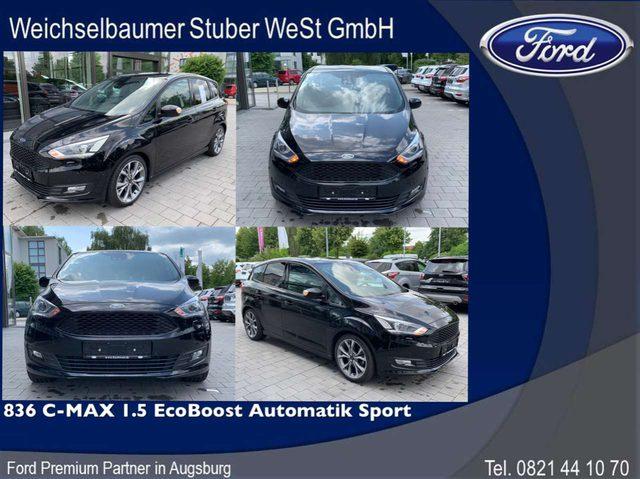 Ford, C-Max, 836 C-MAX 1.5 EcoBoost Automatik Sport