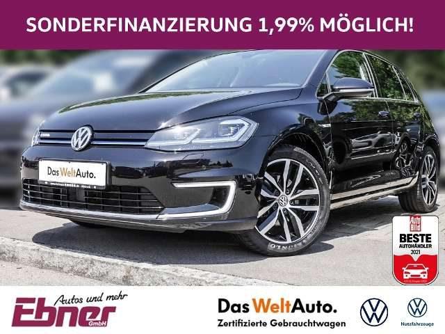 Volkswagen, Golf, VII E-GOLF NP:44tEUR! 17ZOLL,ACC,LED,NAVI,APP-CON