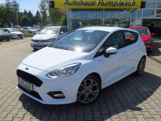 Ford, Fiesta, Ecoboost ST-Line Navi Sitzh. Kurvenl.beh. Frontsch