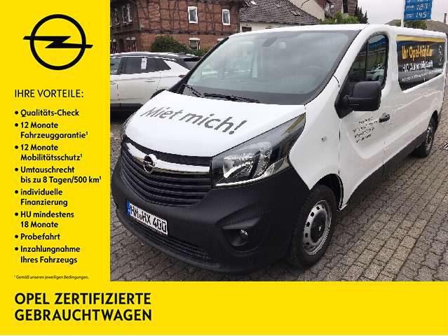 Opel, Vivaro, Kasten L2H1 2,9t*Klimaanlage*AHK*Rückfahrkamera