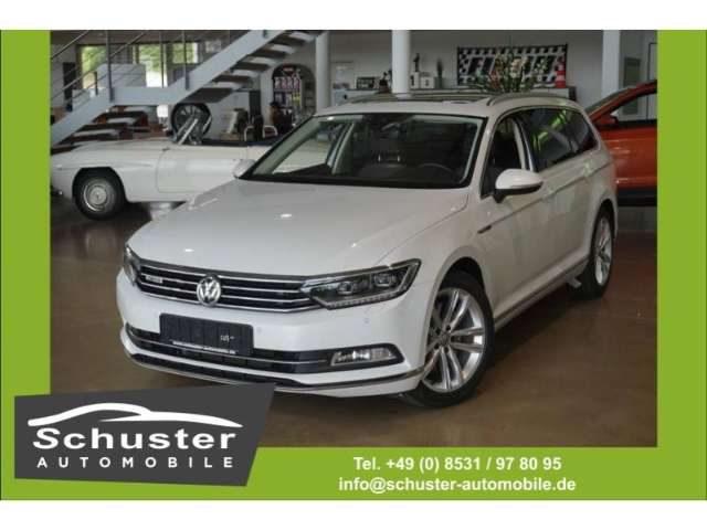 Volkswagen, Passat Variant, Highline 4Mot 2.0TSI DSG Leder LED