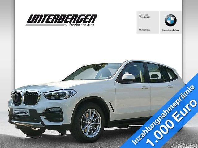 BMW, X3, xDrive20d Advantage HiFi DAB Standhzg. AHK