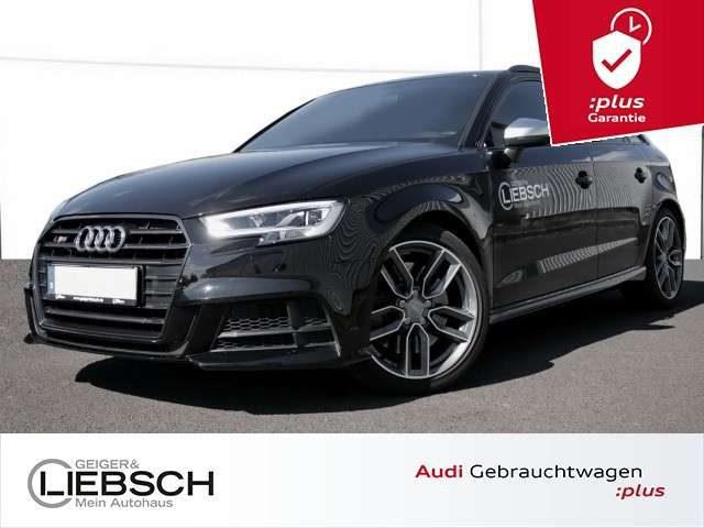 Audi, S3, Sportback 2.0 TFSI BLACK B&O Navi LED