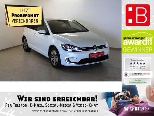 Volkswagen, Golf, VII e-Golf FL ACC WÄRMEP CCS 5.J GARANTIE