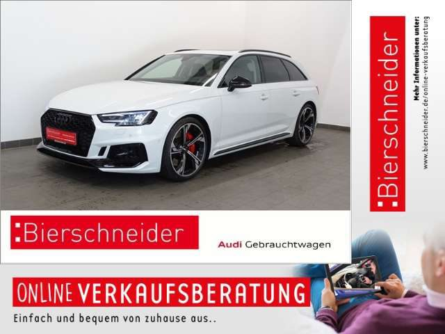 Audi, RS4, 868,- Leasing* MATRIX B&O PANO HEAD-UP VIRTUAL UMG