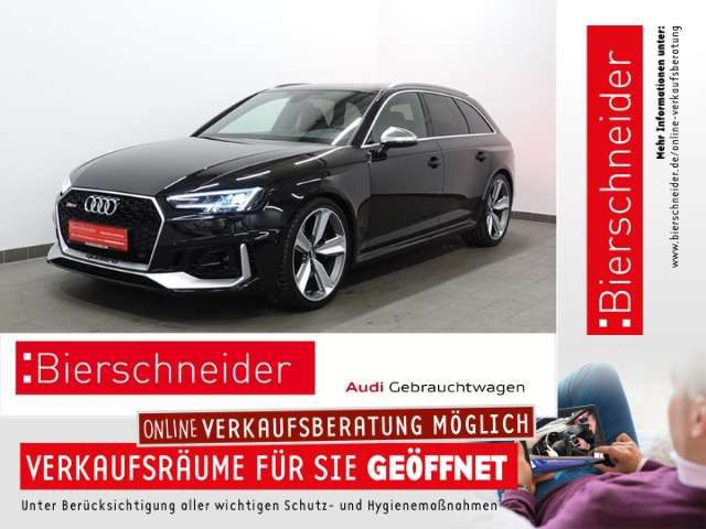 Audi, RS4, Av. 699,- Leasing* MATRIX S-SITZE B&O PANORAMA VIR