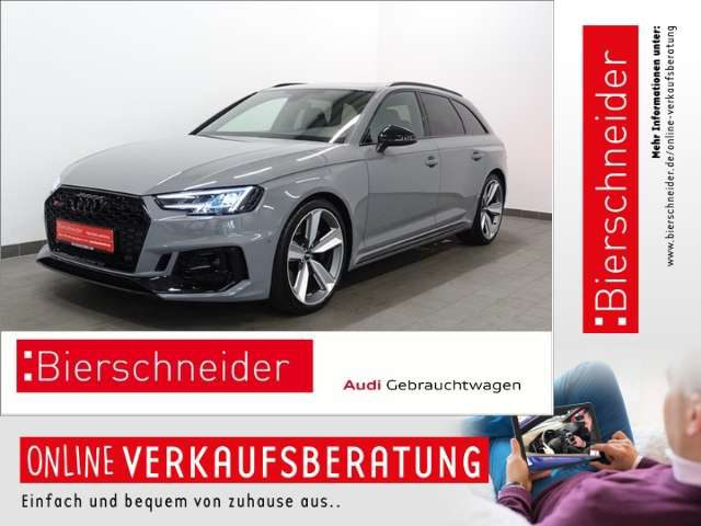 Audi, RS4, Av. 686,- Leasing* MATRIX S-SITZE B&O PANORAMA VIR