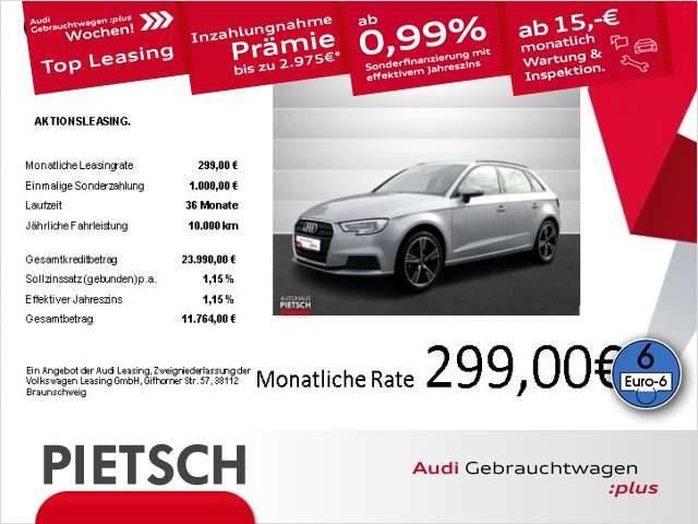 Audi, A3, Sportback g-tron 1.4 TFSI - Xenon Navi GRA
