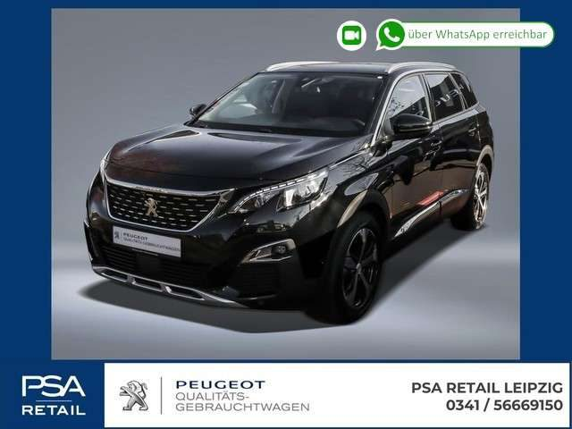 Peugeot, 5008, BlueHDi 130 Allure 7Sitze, Navi, LED, GripContr.