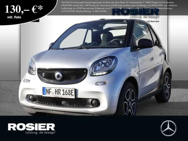 smart, forTwo, EQ cabrio Cool&Media Navi SHZ Lenkradh