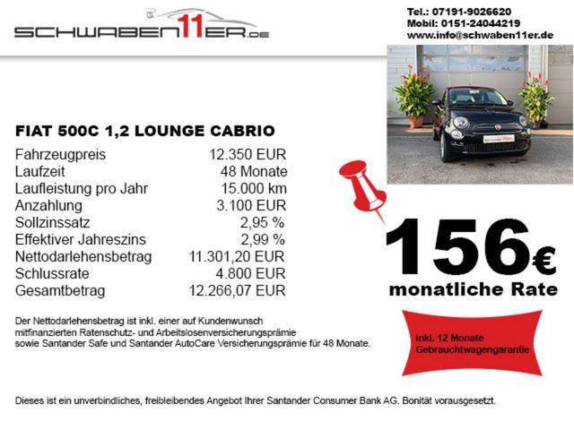 500C, Lounge - Garantie - ab 158 € pro Monat (Finanz.)