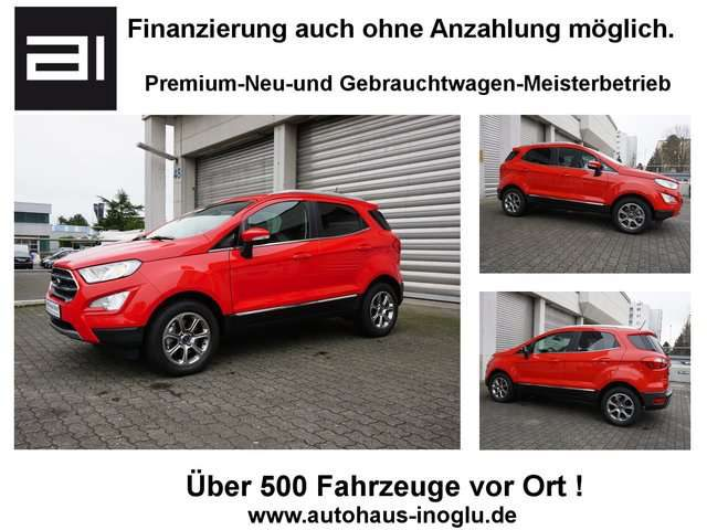 Ford, EcoSport, 1.0 EcoBoost Titanium Navi Lenk/SHZ Temp PDC Euro