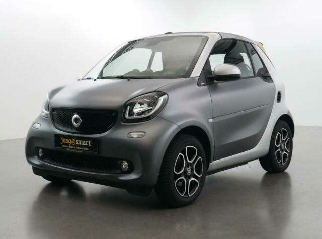 smart, forTwo, cabrio passion turbo: HAMMER-GEILE KOMBI!