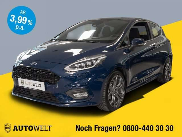 Ford, Fiesta, 1.0 EcoBoost ST-Line EURO 6d-TEMP LED Styling/BC