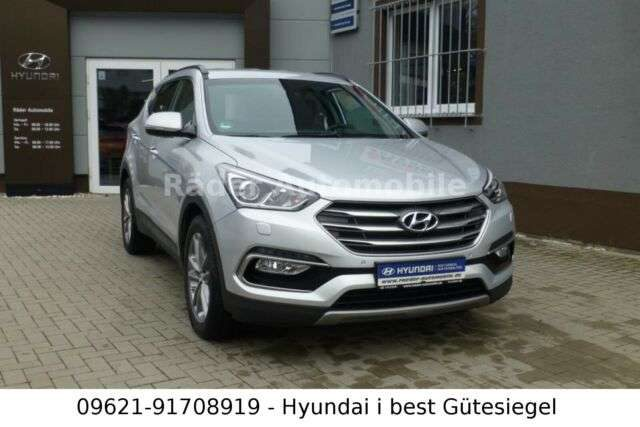 Hyundai, Santa Fe, blue 2.2 CRDI 4WD AT Premium Sitz Paket