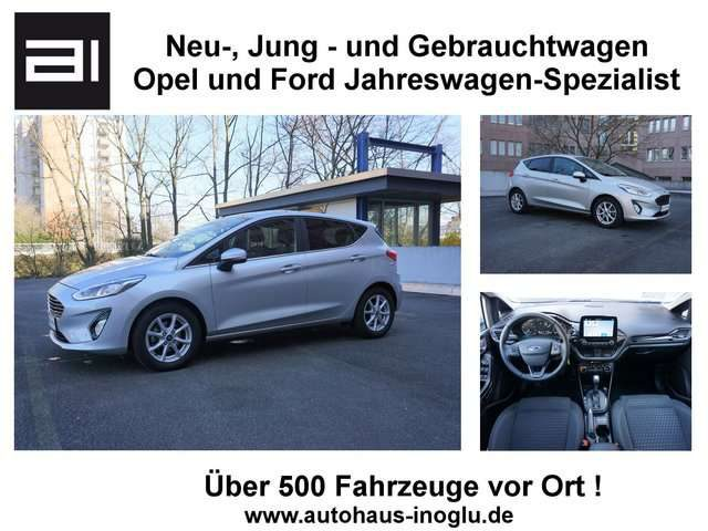 Fiesta, 1.0 Titanium Auto. Navi RCam LED EU6dTemp