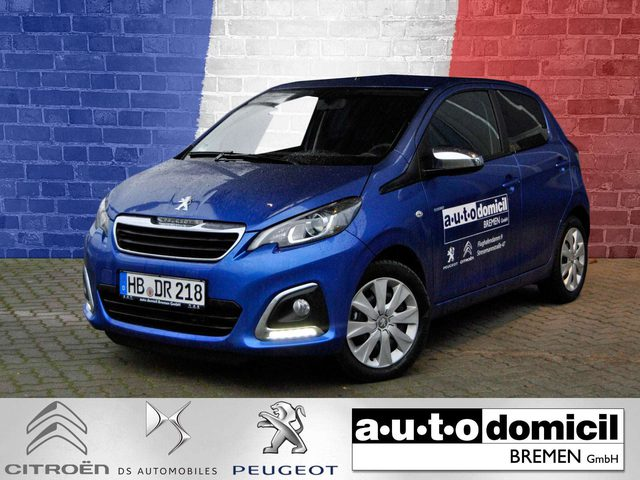 Peugeot, 108, Style 72 +SHZ+RüKa+Klima
