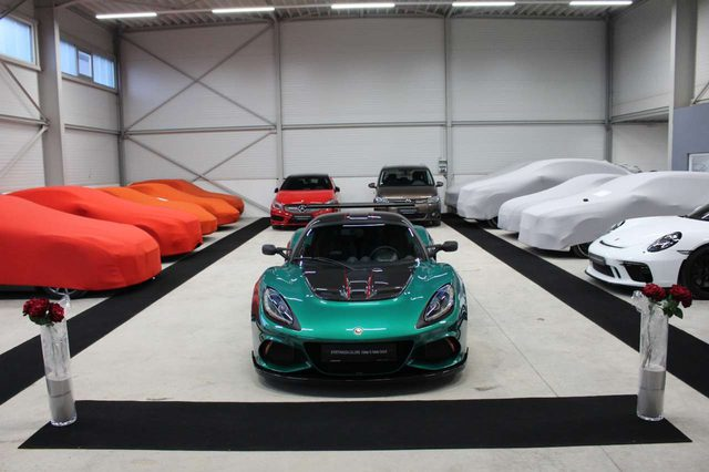 Exige, Cup 430,1.Hd.DEU,Racing Green,Klima,Klappe