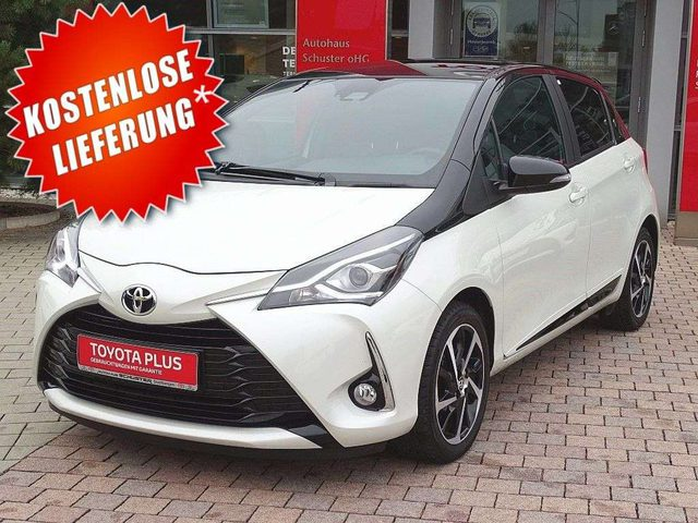 Yaris, 1,5-Dual-VVT-iE Style Selection White*Navi