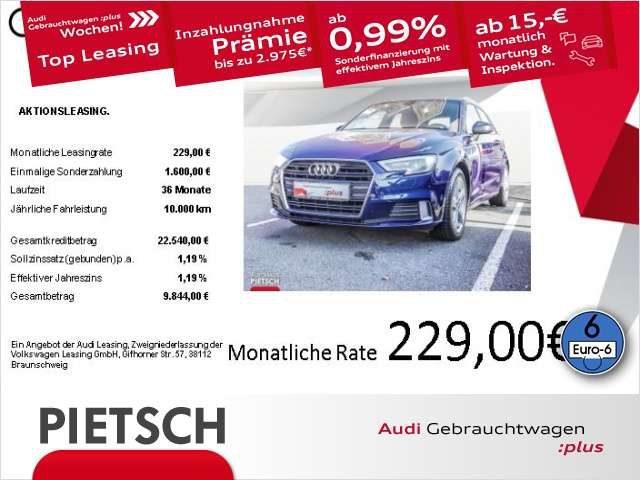 Audi, A3, Sportback 1.5 TFSI Sport - Navi Xenon Start/