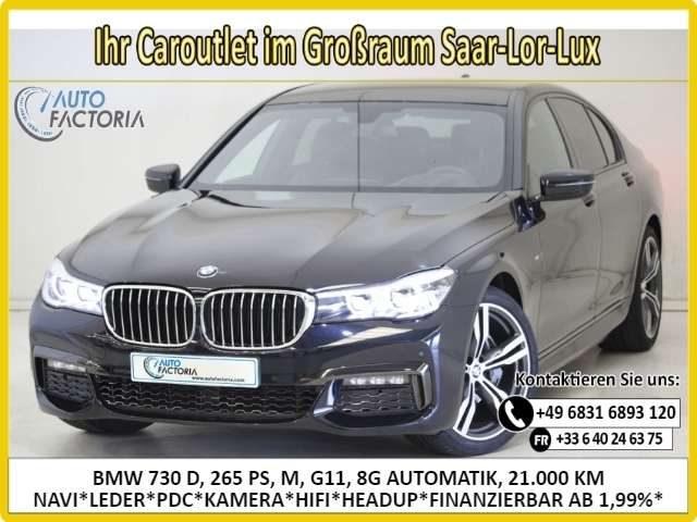 BMW, 730, 265PS AUTOM M NAVI*LEDER*PDC*KAM*HIFI* -57%