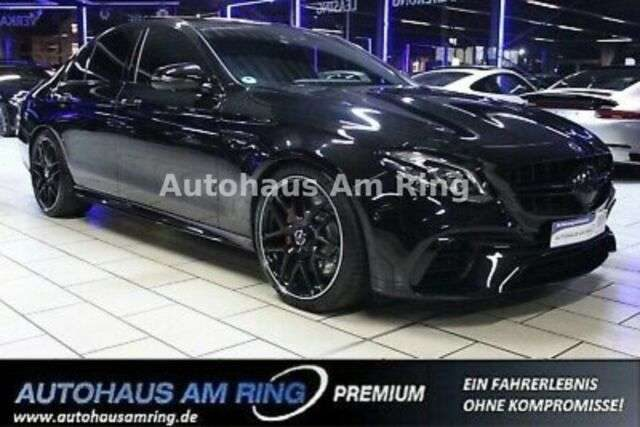 E 63 AMG, S 4Matic+ DRIVERS PANO NIGHT 360° STAND