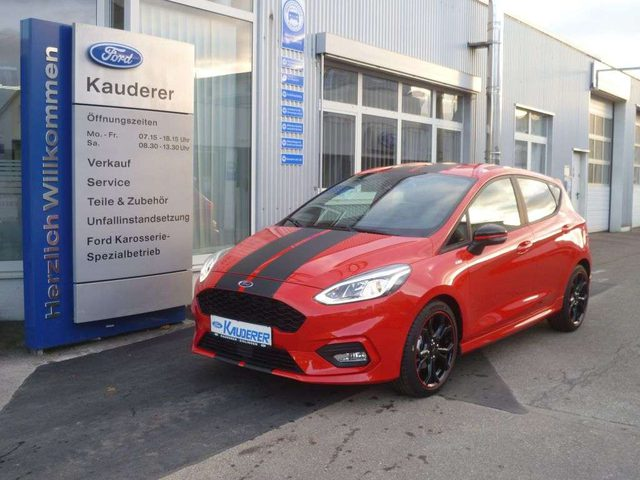 Ford, Fiesta, 1.0 EcoBoost S&S ST-LINE Red