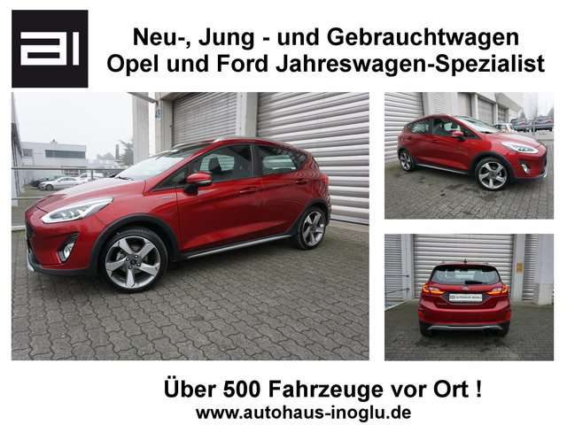 Ford, Fiesta, 1.0 Active Plus Navi SHZ PDC Euro6d-Temp