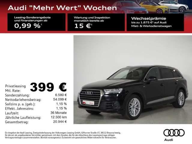 Q7, 45 TDI quattro S-line Tip. LED/P-Dach/7-Sitze