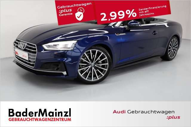 Audi, A5, Cabriolet 40 TDI quattro S tronic S line HUD