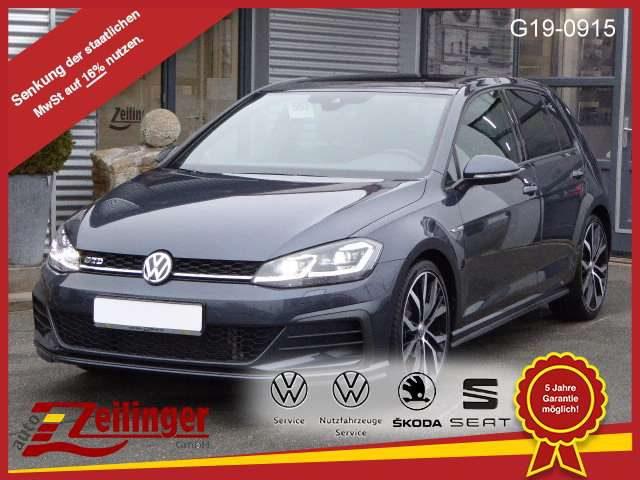 Volkswagen, Golf, GTD DSG +19 ZOLL+ACTIVE LIGHTING+DAB+TOP PAKET