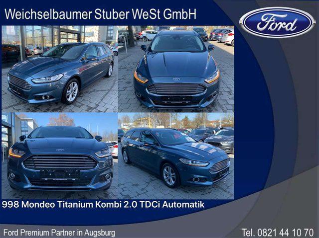 Ford, Mondeo, 998 Mondeo Titanium Kombi 2.0 TDCi Automatik