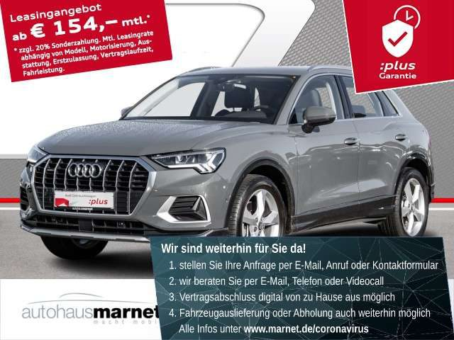 Audi, Q3, sport advanced 40 TFSI virtual cockpit LED Navi Rü