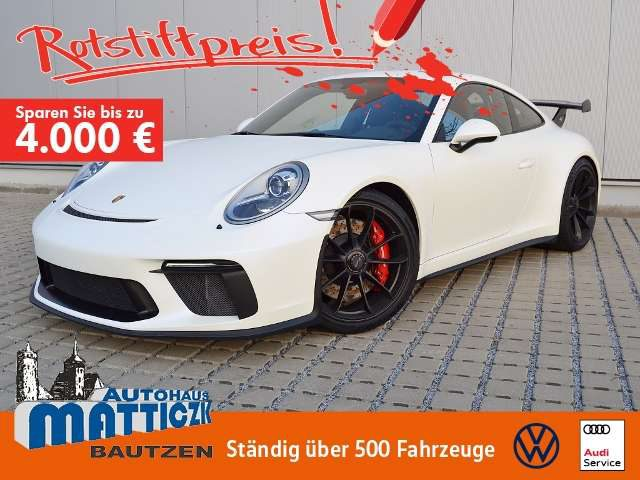 911, GT3 Sport-Chrono/Clubsport/Schalensitze/Voll-Foli