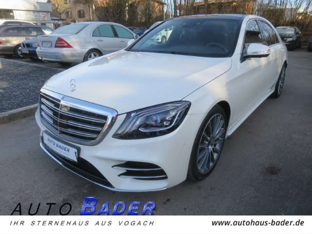 S 450, 4Matic lang AMG Line Fahrassistenz Panorama