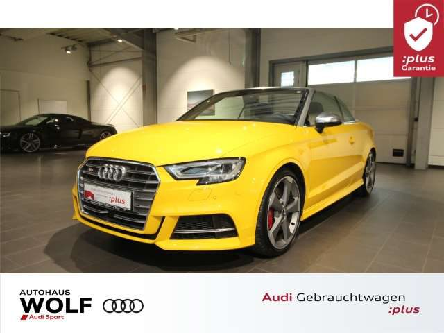 Audi, S3, Cabriolet 2.0 TFSI virtual cockpit Matrix LED