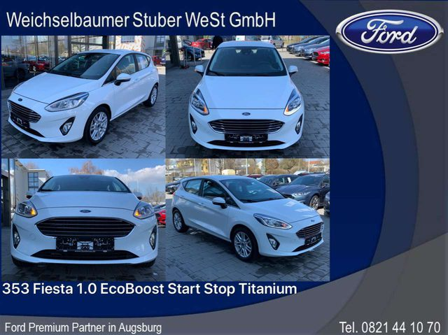 Ford, Fiesta, 353 Fiesta 1.0 EcoBoost Start Stop Titanium