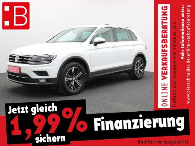 Tiguan, 2.0 TDI DSG 4MO. Highline NAVI LED PANO HEAD-UP AH