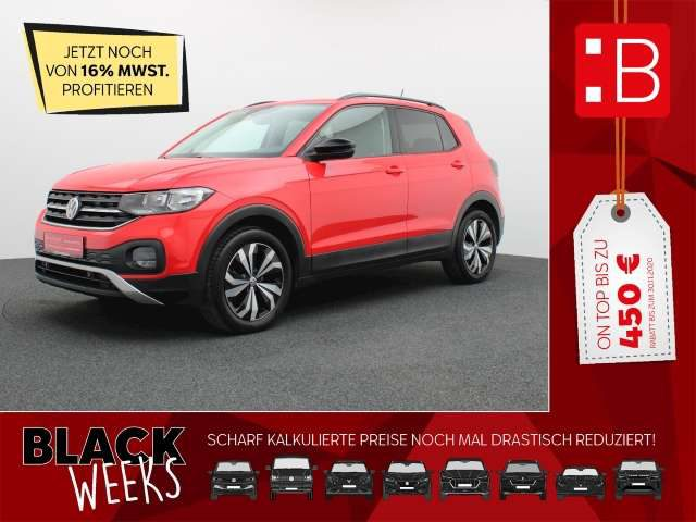 Volkswagen, T-Cross, 1.0 TSI Life NAVI ACC PDC SH DAB 5-J-GARANTIE