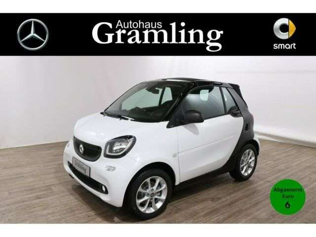 smart, forTwo, cabrio 52kW passion Cool&Media*Kamera*LED