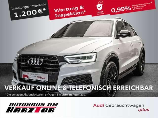 Audi, Q3, Sport 2.0 TDI quattro. AHK S-line competition